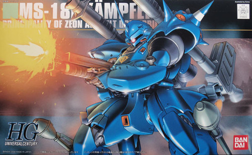Bandai HGUC 089 Gundam MS-18E KAMPFER 1/144 Scale Kit