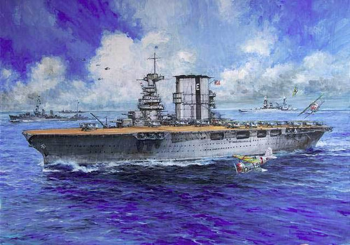 Pit-Road Skywave W-96 US Navy Aircraft Carrier CV-3 Saratoga 1/700 Scale Kit