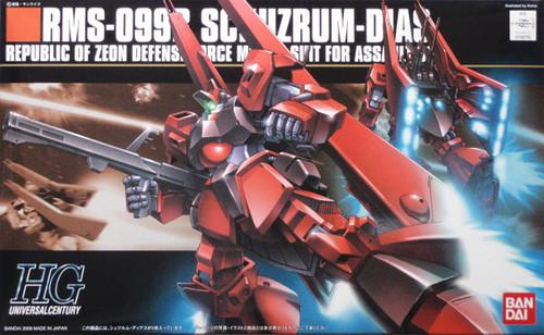 Bandai HGUC 094 Gundam RMS-099B SCHUZRUM-DIAS 1/144 Scale Kit