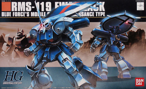 Bandai HGUC 096 Gundam RMS-119 EWAC ZACK 1/144 Scale Kit