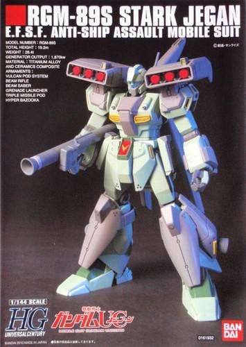 Bandai HGUC 104 Gundam RGM-89S STARK JEGAN 1/144 Scale Kit
