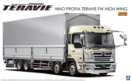 Aoshima 04500 Hino Profia Teravie FW High Wing Truck 1/32 Scale Kit