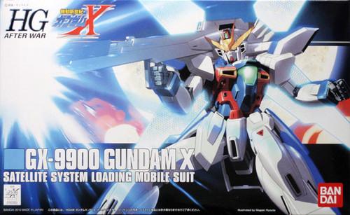 Bandai HGUC 109 Gundam GX-9900 Gundam X 1/144 Scale Kit