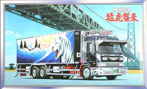 Aoshima 42236 WHITE TIGER Japanese Reefer Truck 1/32 Scale Kit