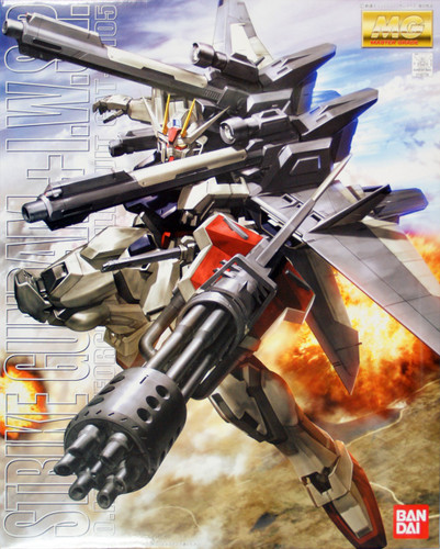 Bandai MG 467287 Gundam Strike Gundam + I.W.S.P 1/100 Scale Kit