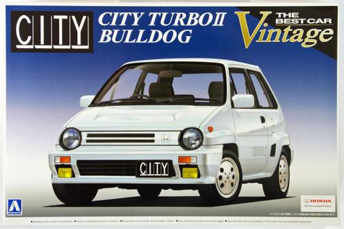 Aoshima 48368 Honda City Turbo II Bulldog 1/24 Scale Kit
