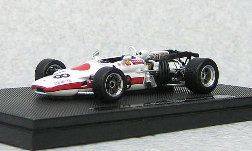 Ebbro 44384 Honda F1 RA302 1868 France GP (Resin Model) 1/43 Scale