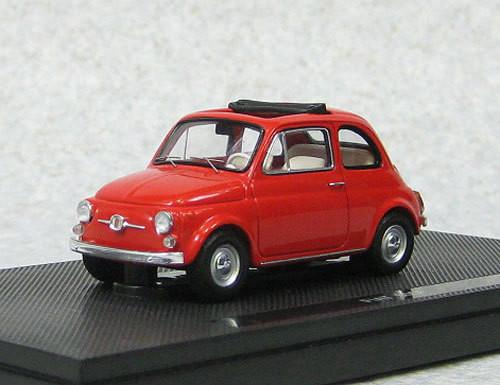 Ebbro 44462 Fiat 500F 1965 Red (Resin Model) 1/43 Scale