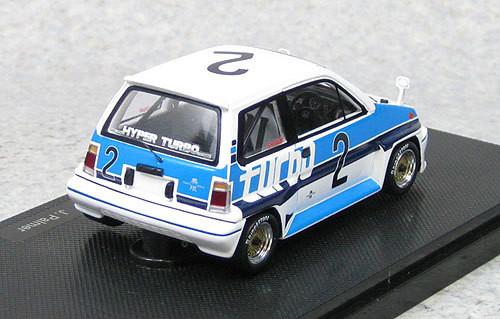 Ebbro 44470 Honda City Turbo R #2 Suzuka 1982 J.Palmer (Resin) 1/43 Scale