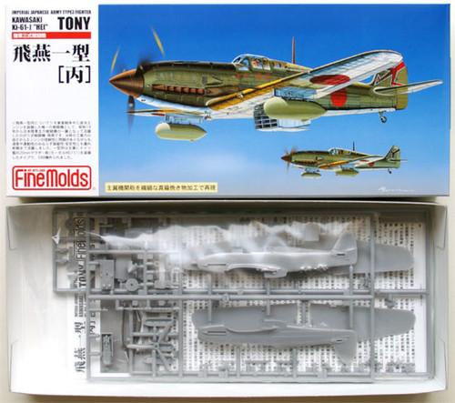Fine Molds FP25 KAWASAKI Ki-61-I HEI TONY 1/72 Scale Kit