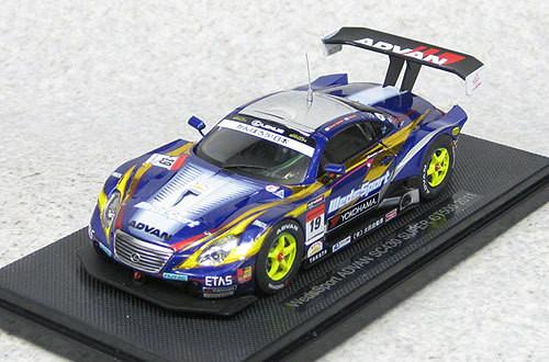Ebbro 44551 Weds Sport Advan SC430 Super GT500 2011 #19 (Blue) 1/43 Scale