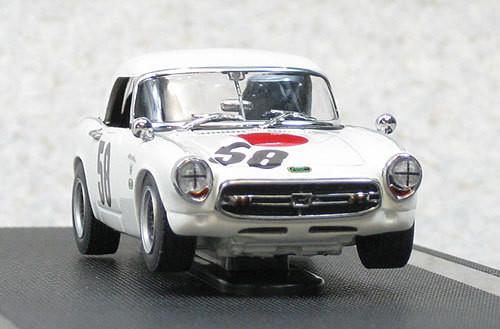 Ebbro 44589 IKUZAWA HONDA S800 Racing Nurburgring 1967 #58 1/43 Scale