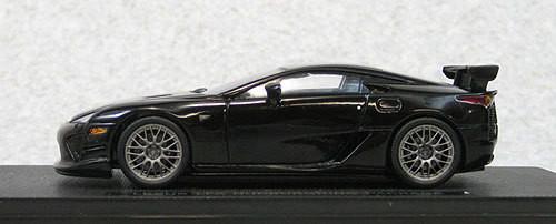 Ebbro 44639 LEXUS LFA Nurburgring Package Black (Resin Model) 1/43 Scale