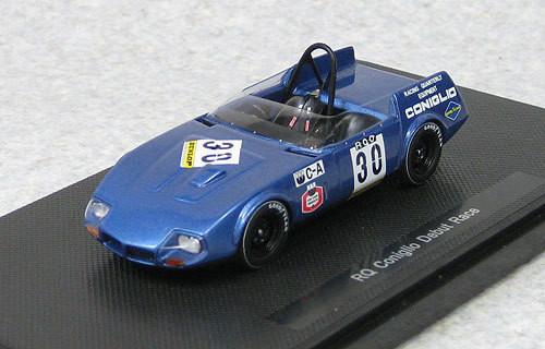 Ebbro 44670 RQ Coniglio Fuji Debut Race 1968 M.Blue (Resin Model) 1/43 Scale