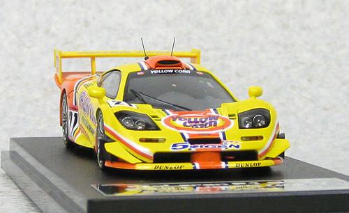 Ebbro 44672 EBBRO x HPI Yellow Corn Mclaren F1 GTR 2001 JGTC #21 1/43 Scale
