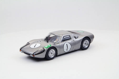 Ebbro 44709 Porsche 904 GTS 1964 Japan Grand Prix #1 (Gray) 1/43 Scale