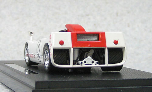 Ebbro 44718 Toyota 7 Japan Grand Prix 1969 No.2 (Red) 1/43 Scale