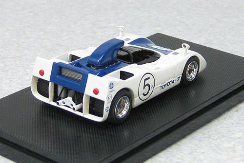 Ebbro 44720 Toyota 7 Japan Grand Prix 1969 No.5 (Blue) 1/43 Scale