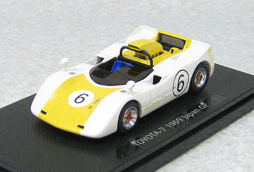 Ebbro 44721 Toyota 7 Japan Grand Prix 1969 No.6 (Yellow) 1/43 Scale