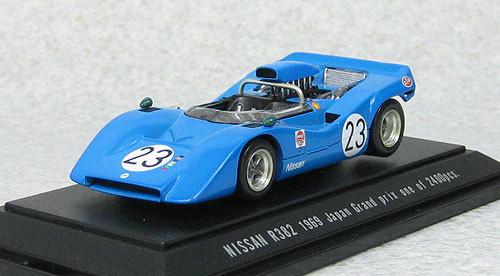 Ebbro 44725 Nissan R382 Japan Grand Prix 1969 #23 (Blue) 1/43 Scale