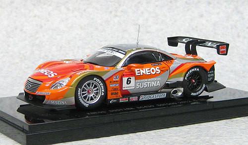 Ebbro 44737 Eneos Sustina SC430 Super GT500 2012 #6 (Orange) 1/43 Scale