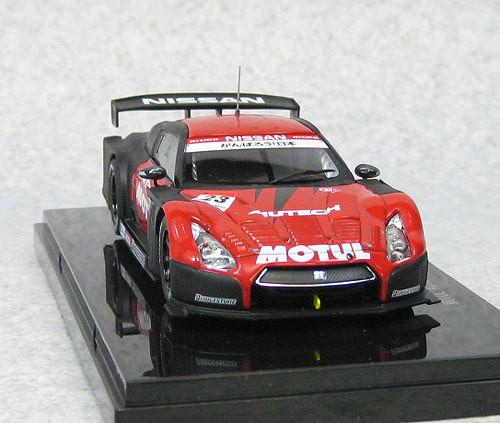 Ebbro 44763 Motul Autech GT-R Super GT500 2012 Okayama Test 1/43 Scale