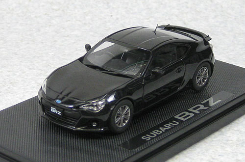 Ebbro 44780 Subaru BRZ (Black) 1/43 Scale