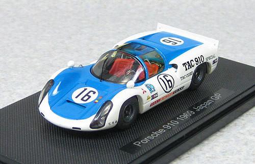 Ebbro 44792 Porsche 910 Japan GP 1969 #16 1/43 Scale