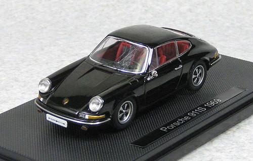Ebbro 44794 Porsche 911S 1969 Black 1/43 Scale