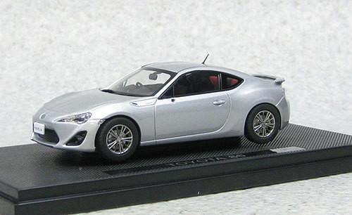 Ebbro 44842 Toyota 86 (Silver) 1/43 Scale