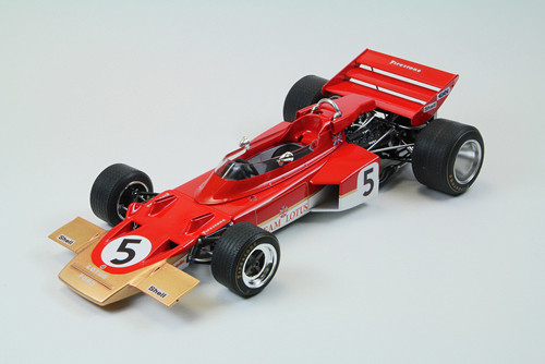 Ebbro 20001 Team Lotus type 72C (1970) 1/20 Scale plastic model Kit