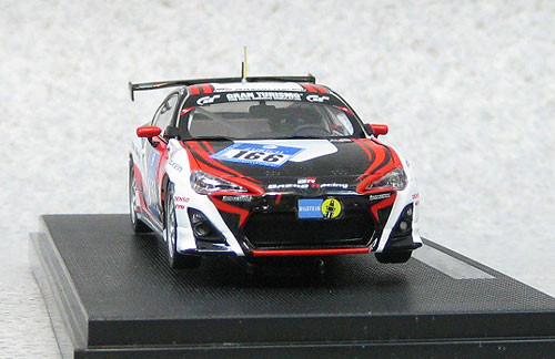 Ebbro 44892 Toyota 86 Nurburgring 24 Hour Race 2012 No.166 1/43 Scale