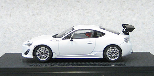 Ebbro 44893 Toyota 86 Nurburgring 24 Hour Race 2012 Test Car 1/43 Scale