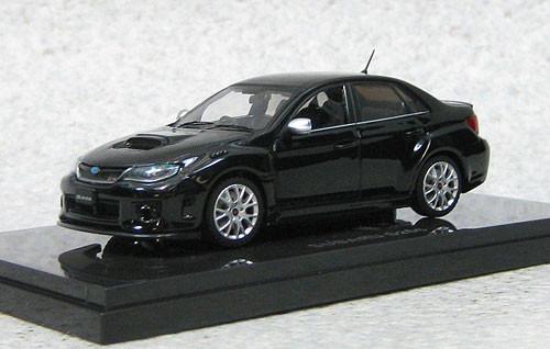 Ebbro 44783 Subaru Impreza WRX STi S206 (Black) 1/43 Scale