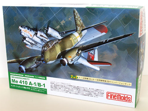 Fine Molds FL4 German Messerschmitt Me 410 A-1/B-1 1/72 Scale Kit