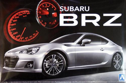 Aoshima 04586 Subaru BRZ 1/24 Scale Kit