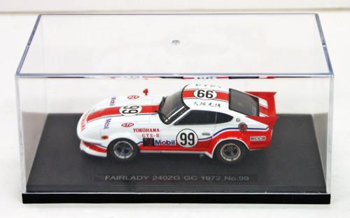 Ebbro 44607 Fairlady 240ZG GC 1972 No.99 (White) 1/43 scale