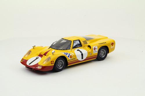 Ebbro 44666 Daihatsu P5 1967 Japan GP #1 (Resin Model) 1/43 Scale