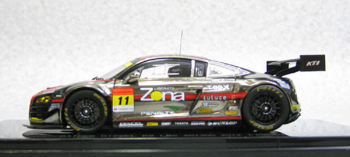 Ebbro 44754 Gainer Dixcel Audi R8 LMS Super GT300 2012 #11 (Resin Model) 1/43 Scale