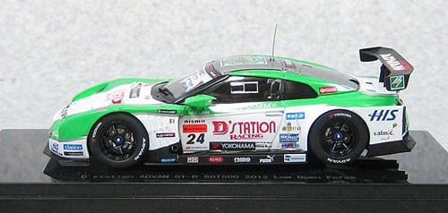 Ebbro 44853  Nissan Skyline D'Station Advan GT-R Low Down Force Super GT500 2012 No.24 1/43 Scale