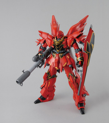 Bandai MG 815972 Gundam MSN-06S Sinanju with Bazooka 1/100 Scale Kit