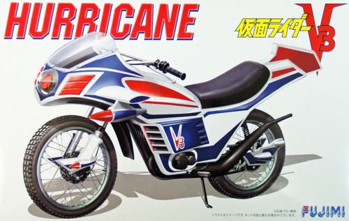 Fujimi 141473 Hurricane Motorcycle (from Kamen Masked Rider V3) 1/12 Scale Kit