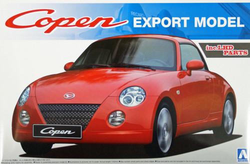 Aoshima 08010 Daihatsu Copen Export Model (inc. LHD parts) 1/24 Scale Kit