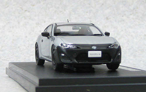 Ebbro 44886 Toyota 86 RC (Silver) 1/43 Scale