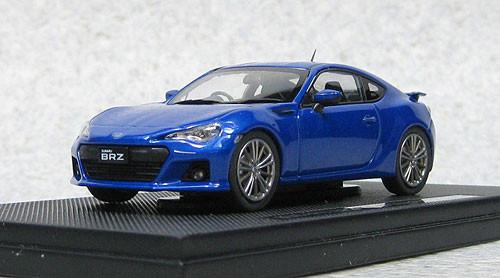 Ebbro 44902 Subaru BRZ Tokyo Motor Show 2011 (WR Blue) 1/43 Scale