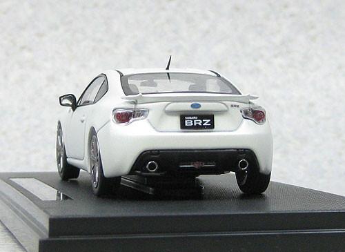 Ebbro 44903 Subaru BRZ Tokyo Motor Show 2011 (White) 1/43 Scale