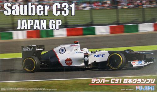 Fujimi GP51 F1 Sauber C31 Japan GP 1/20 Scale Kit