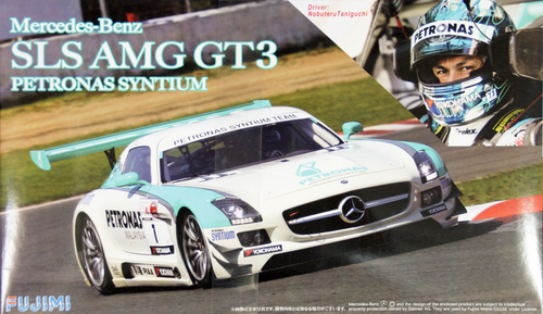 Fujimi RS-SP1 Mercedes Benz SLS AMG GT3 Petronas Syntium w/Helmet 1/24 Scale Kit
