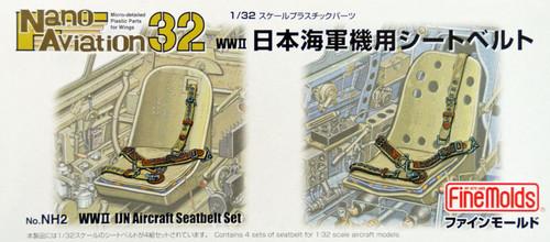 Fine Molds NH2 WW2 IJN Aircraft Seatbelt Set 1/32 Scale Kit