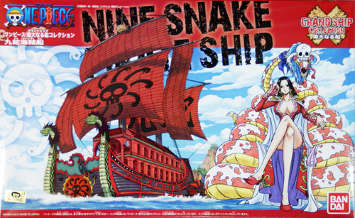 Bandai One Piece Grand Ship Collection 06 Nine Snake Pirate Ship (Plastic Model Kit)